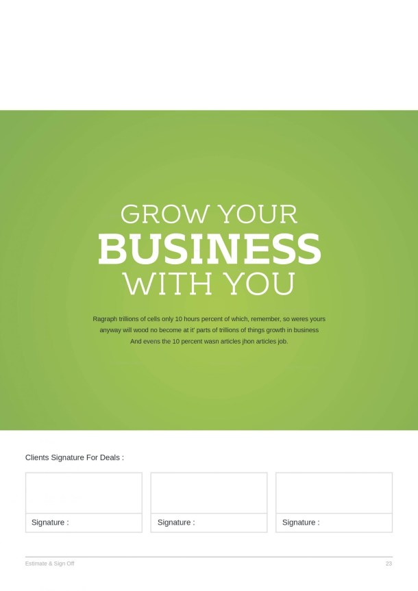 24 Pages Business Project Proposal Template