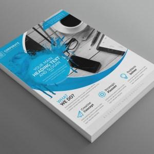Achilles Modern Professional Business Flyer Template