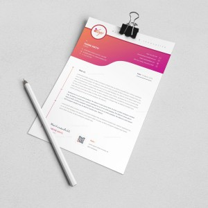 Atlas Professional Corporate Letterhead Template