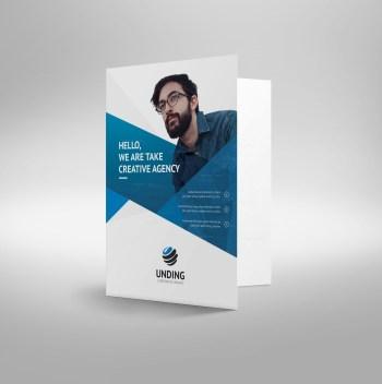 Cerberus Premium Corporate Presentation Folder Template