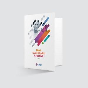 Colorful Professional Corporate Presentation Folder Template