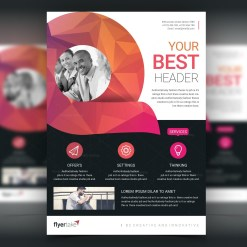Diamond Modern Stylish Business Flyer Template