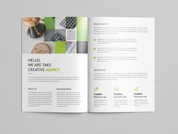 Goddess Professional Bi-Fold Brochure Template