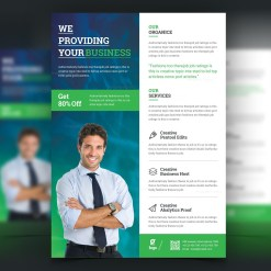 Jason Modern Stylish Business Flyer Template
