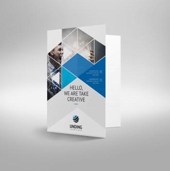Mars Modern Corporate Presentation Folder Template