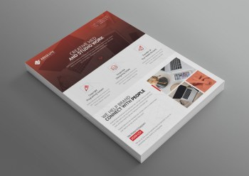 Olympus Stylish Professional Corporate Flyer Template