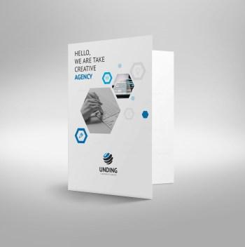 Rigel Elegant Corporate Presentation Folder Template