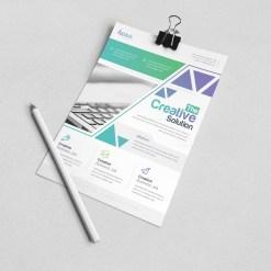Uranus Stylish Premium Business Flyer Template