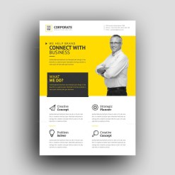 Zephyrus Modern Professional Corporate Flyer Template