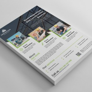 Best Construction Flyer Design Template