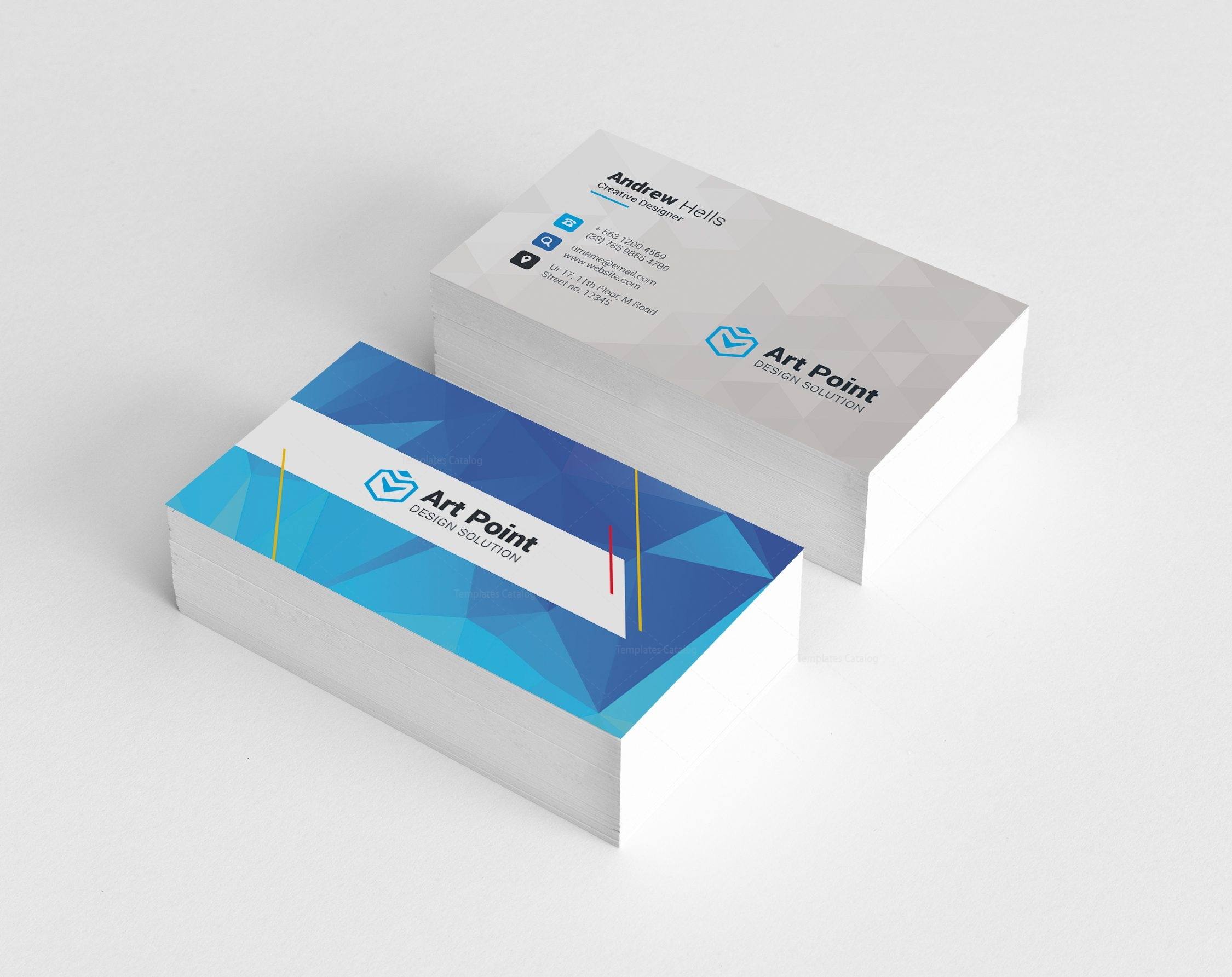Charon Professional Corporate Visiting Card Template