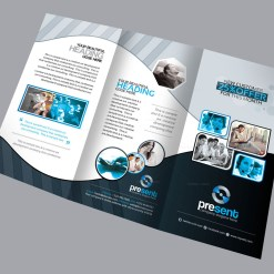 Fauna Corporate Creative Tri-fold Brochure