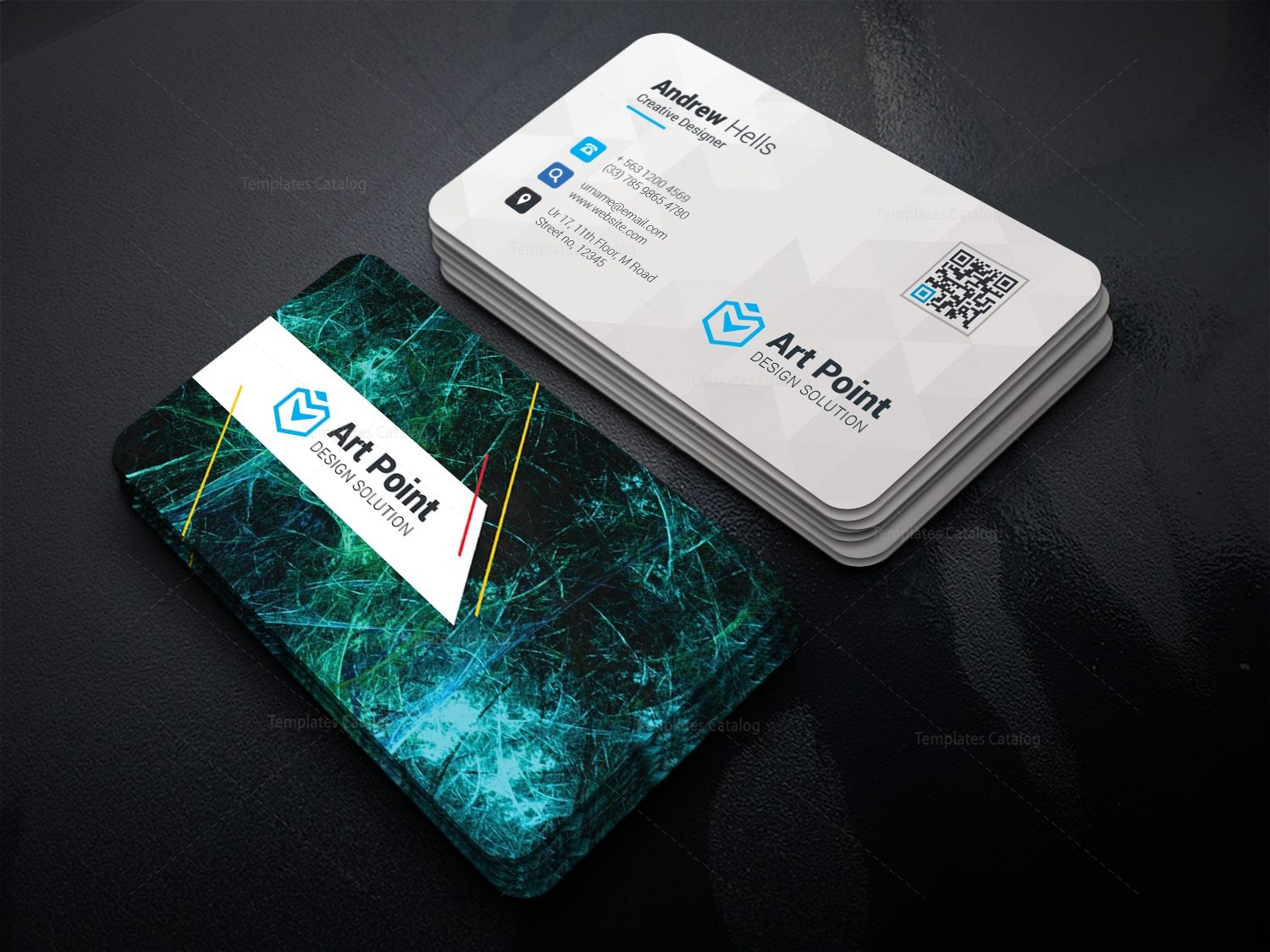 Premium Professional Corporate Visiting Card Template