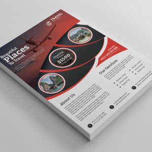 Versatile Travel Agency Flyer Design Template
