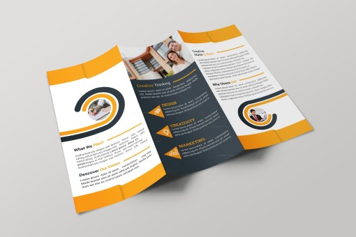 Alabama Professional Tri-fold Brochure Design Template