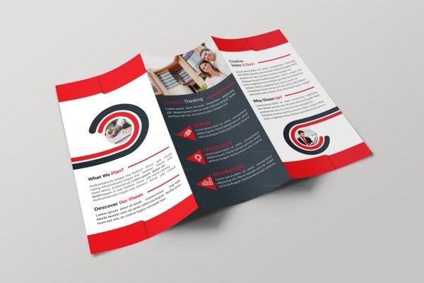 Alabama Professional Tri-fold Brochure Design Template