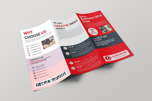 Arizona Creative Tri-fold Brochure Design Template