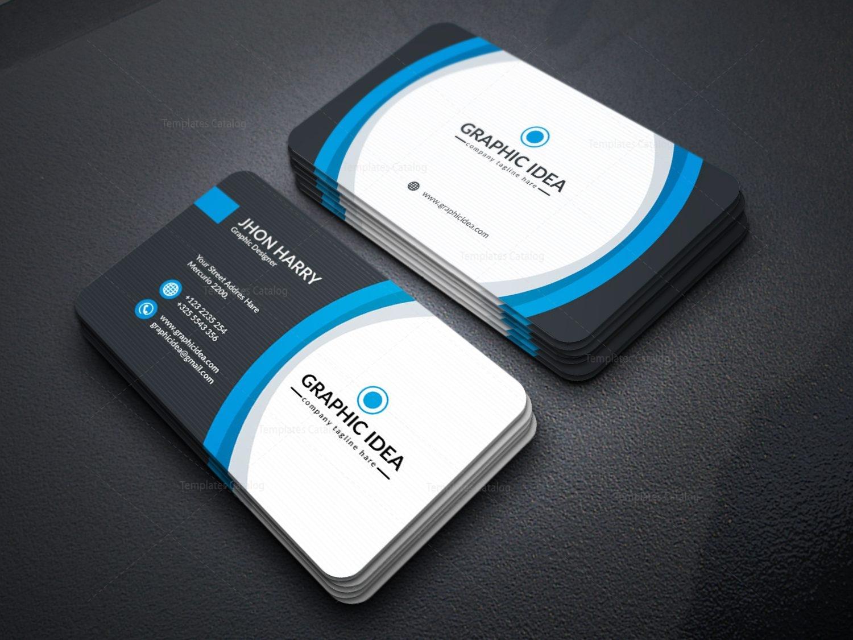 EPS Premium Business Card Design Template 001597