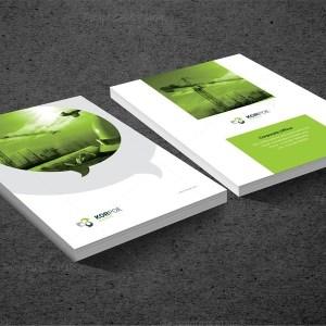 INDD Premium Business Bi-Fold Brochure Template