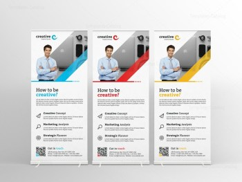 Modern Professional Roll-Up Banner Template