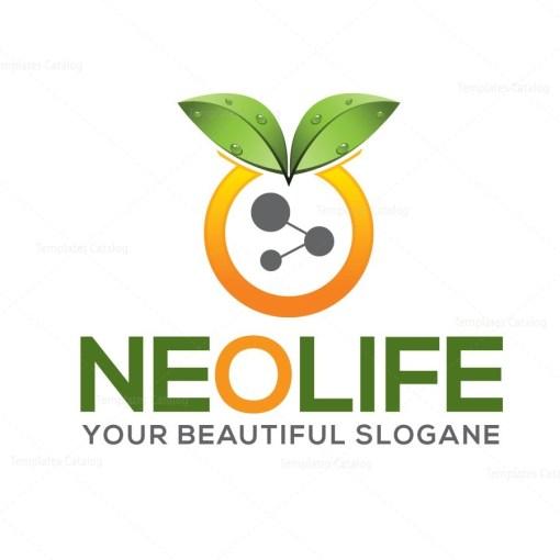 Neo Life Logo Design Template