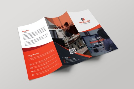 Nevada Creative Tri-fold Brochure Design Template