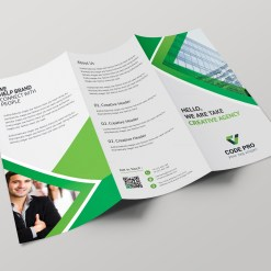 Prague Professional Tri-fold Brochure Design Template