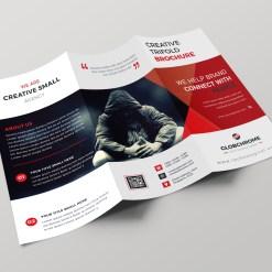 Vienna Professional Creative Tri-fold Brochure Design