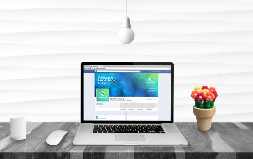Bubble Facebook Timeline Cover Template