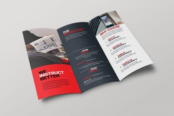 Cincinnati Corporate Creative Tri-fold Brochure