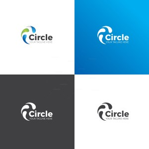 Circle Corporate Logo Design Template