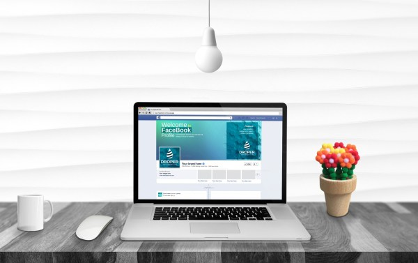Clean Facebook Timeline Cover Template