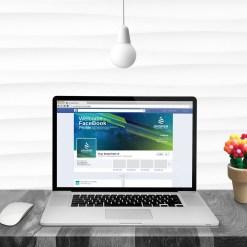 Company Elegant Facebook Timeline Cover