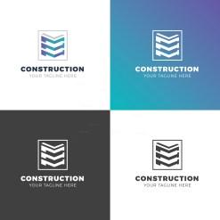 Construction Elegant Logo Design Template