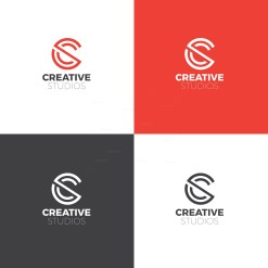 Creative Agency Logo Design Template