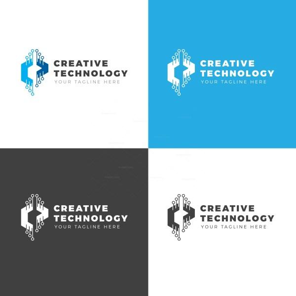 Creative Technology Logo Design Template