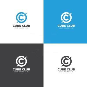 Cube Club Creative Logo Design Template