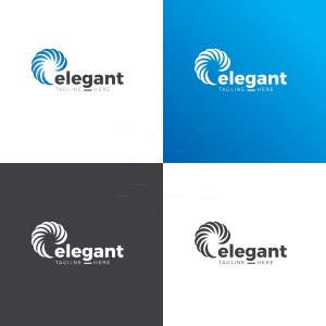 Elegant Circle Logo Design Template