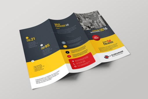 Lexington Corporate Creative Tri-fold Brochure