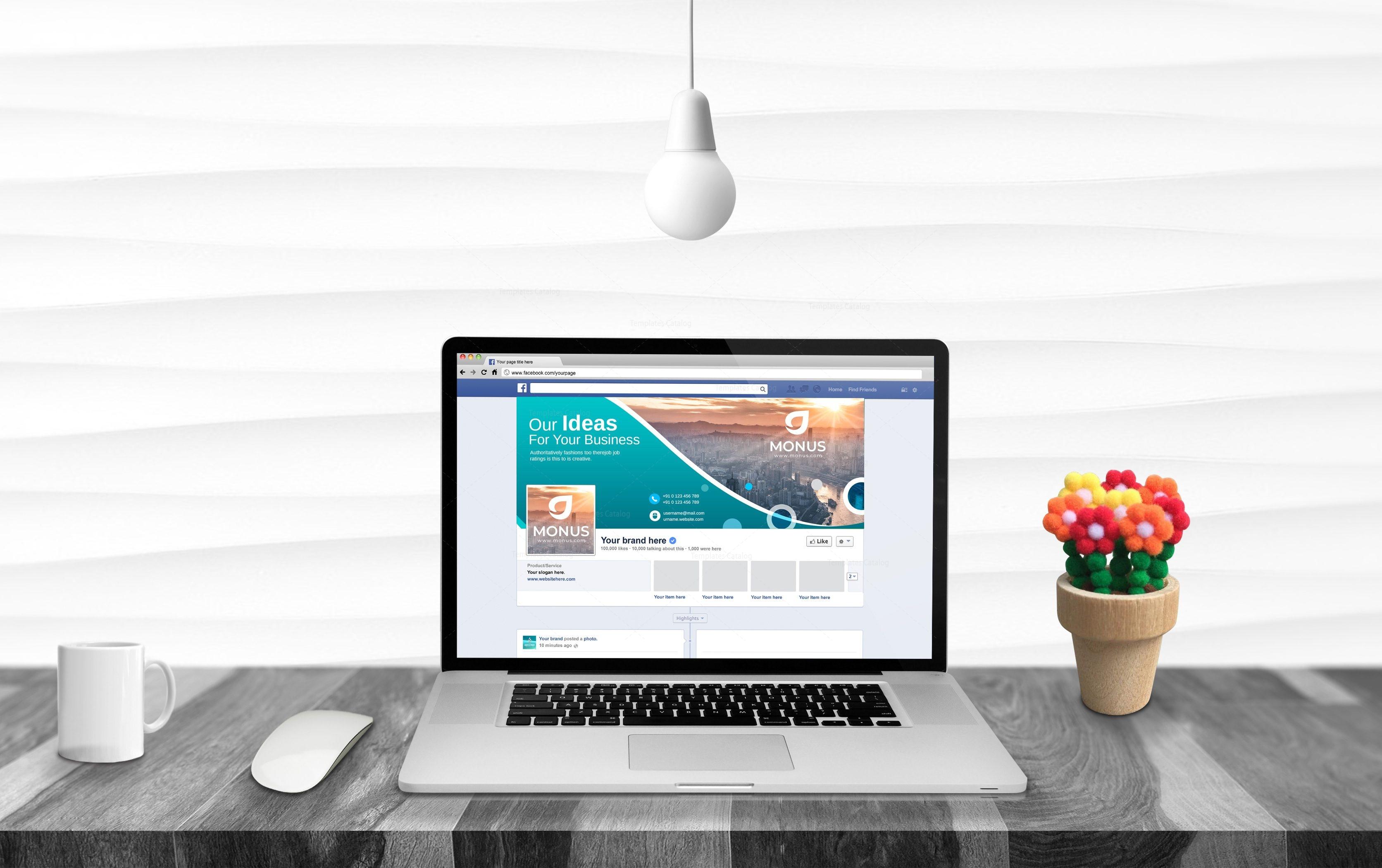 Premium Facebook Timeline Cover Template