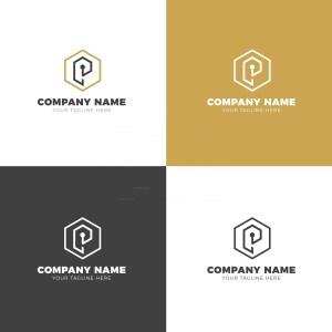 Puzzle Elegant Vector Logo Design Template