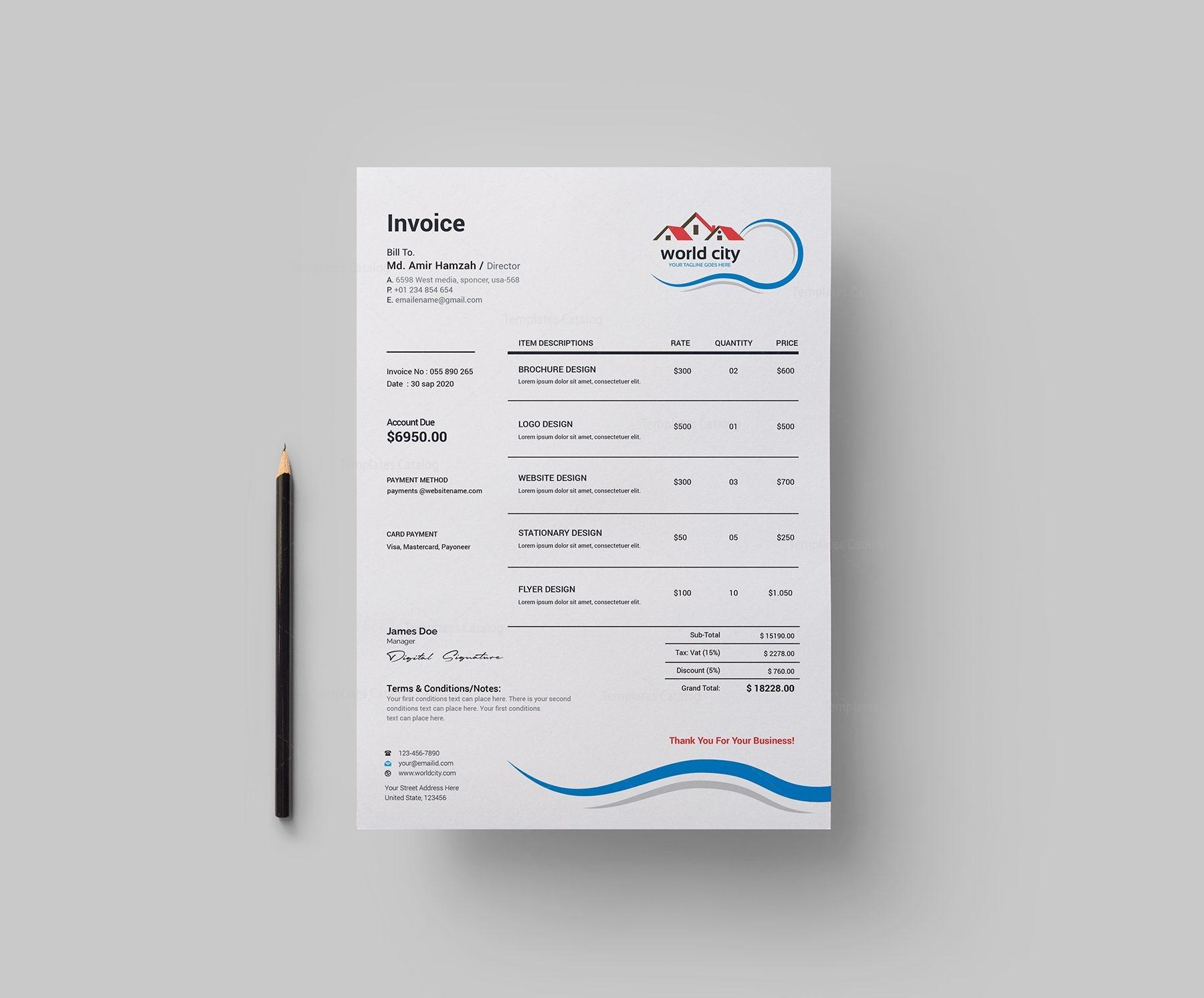 Real Estate Creative Corporate Identity Template 001811