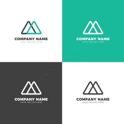 Triangle Creative Vector Logo Design Template