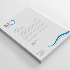 World City Professional Corporate Letterhead Template