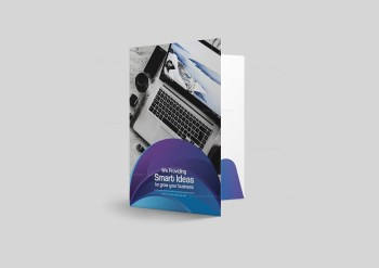 Best Presentation Folder Design Template