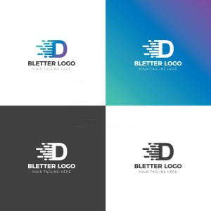 D Creative Logo Design Template