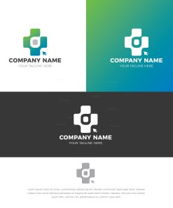 Gamer Stylish Logo Design Template