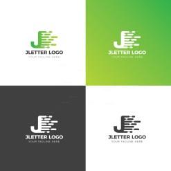 J Creative Logo Design Template