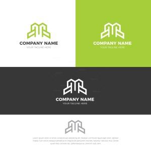 M Stylish Logo Design Template