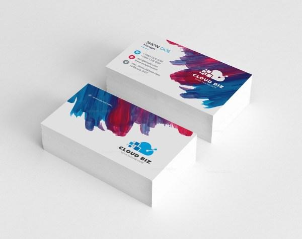 Paint Creative Business Card Design